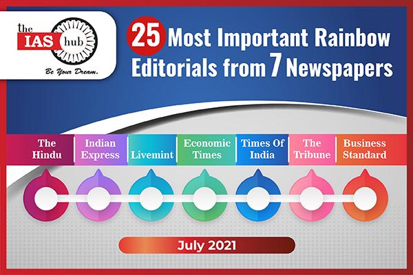 Rainbow Editorials - July 2021